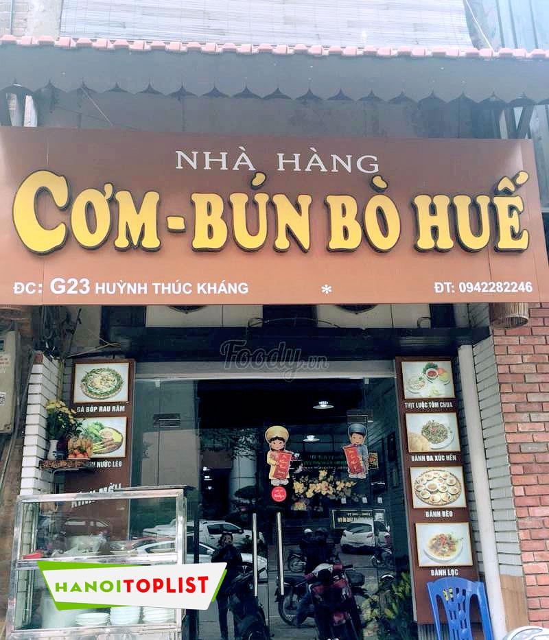quan-an-hue-huynh-thuc-khang-ha-noi