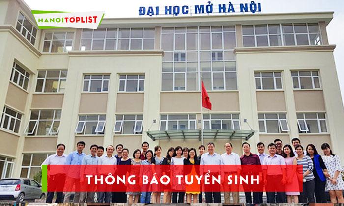 truong-dai-hoc-mo-ha-noi-thong-bao-tuyen-sinh