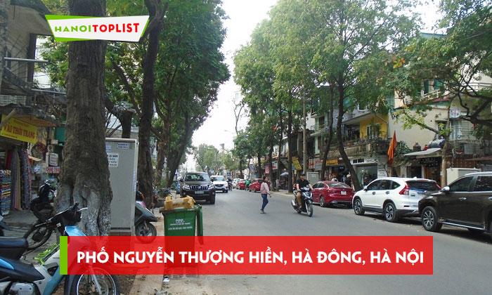 pho-nguyen-thuong-hien-quan-ha-dong-ha-noi