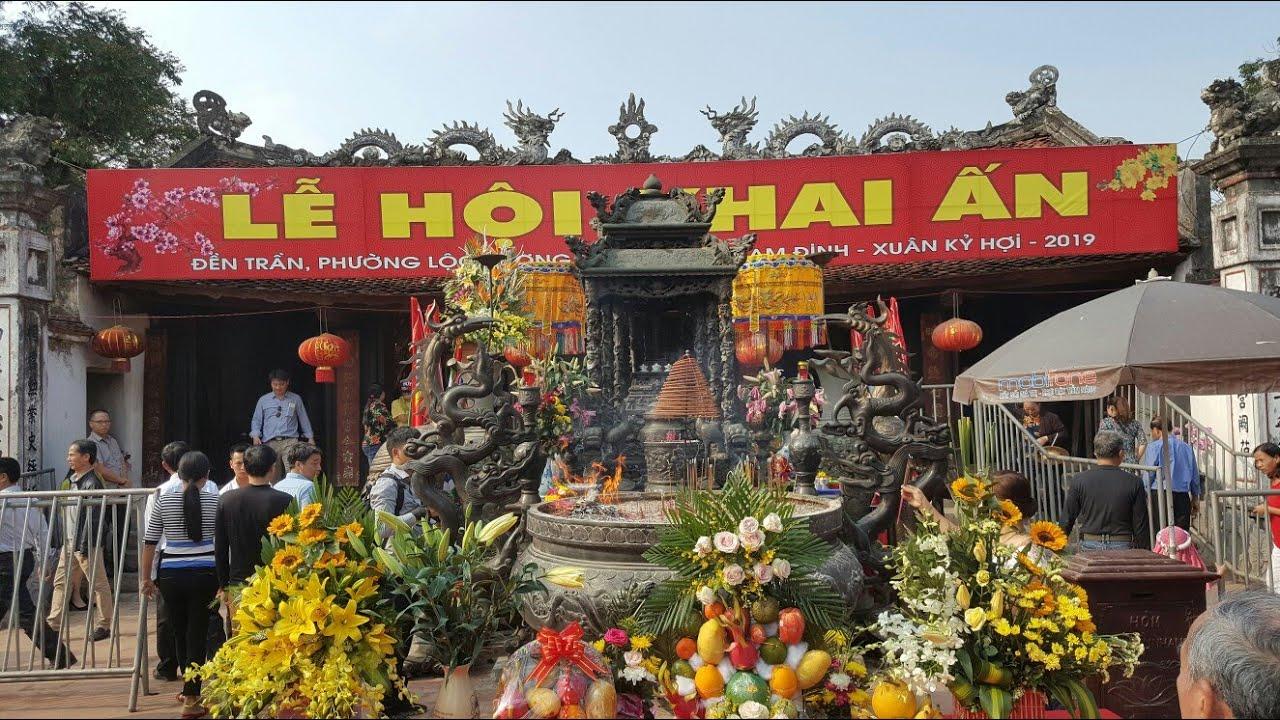 14 Tết đi hội đền Trần Nam Định #hnp