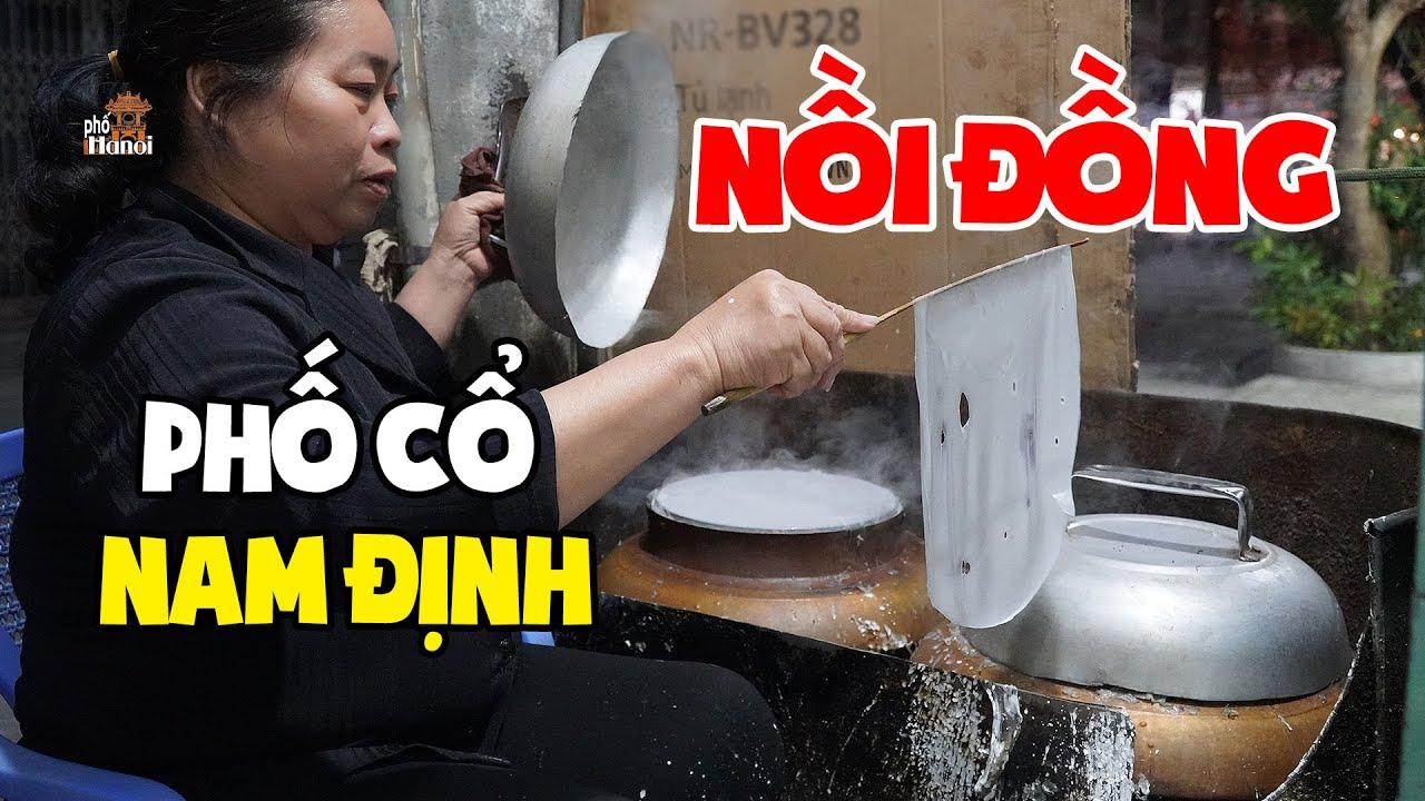 Bánh cuốn Nam Định tráng từ nồi đồng chỉ nghe tên thôi cũng đã thèm #hnp
