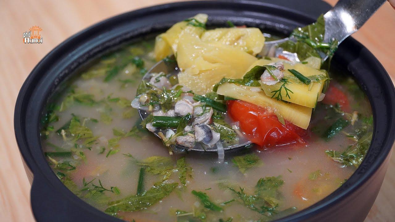 Canh Hến Nấu Chua thanh mát bổ dưỡng chỉ vài ngàn đồng cho mùa hè #hnp