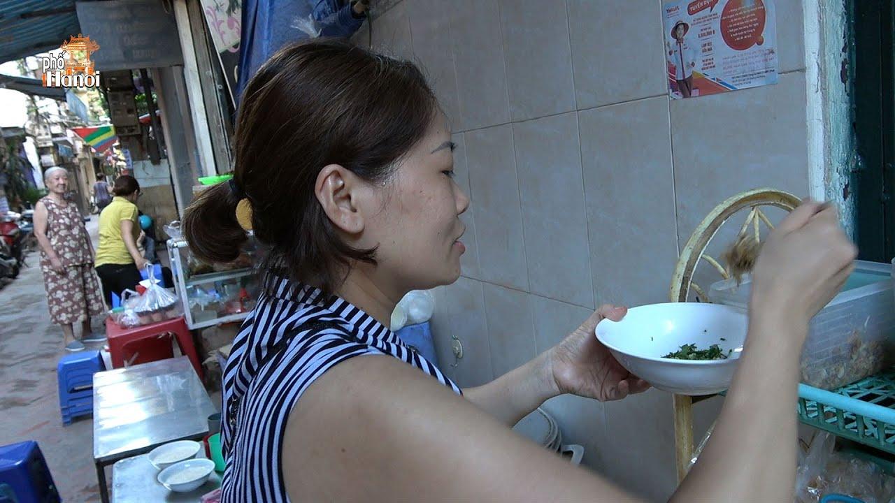 Chỉ nghe giọng nói đặc trưng ấm áp của chị gái người Hà Nội đã thấy ngon #hnp