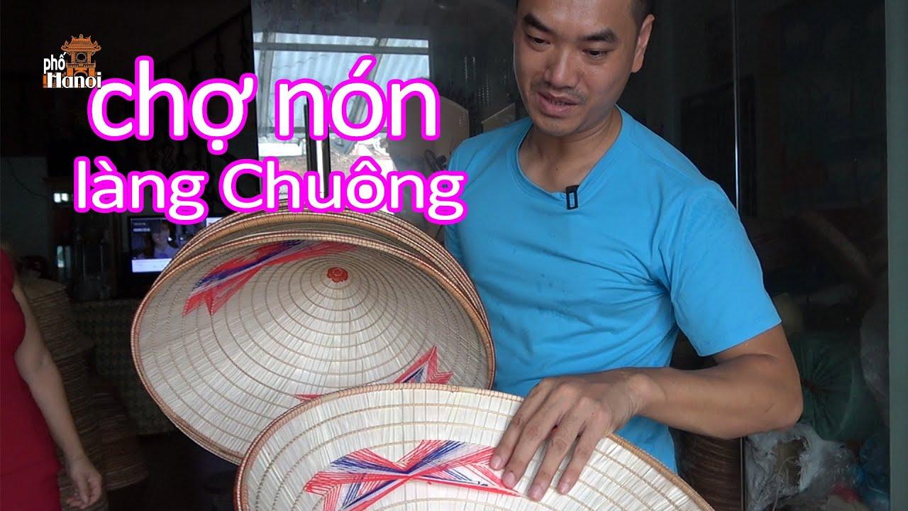 Chợ Chuông ngày Phiên ở làng nghề làm Nón lâu đời huyện Thanh Oai ngày nay #hnp