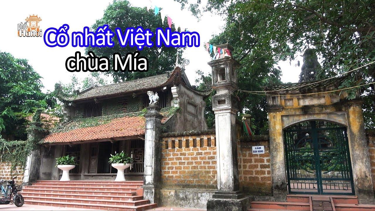 Chùa Mía làng cổ Đường Lâm nơi lưu giữ những pho tượng Cổ đẹp nhất Việt Nam #hnp