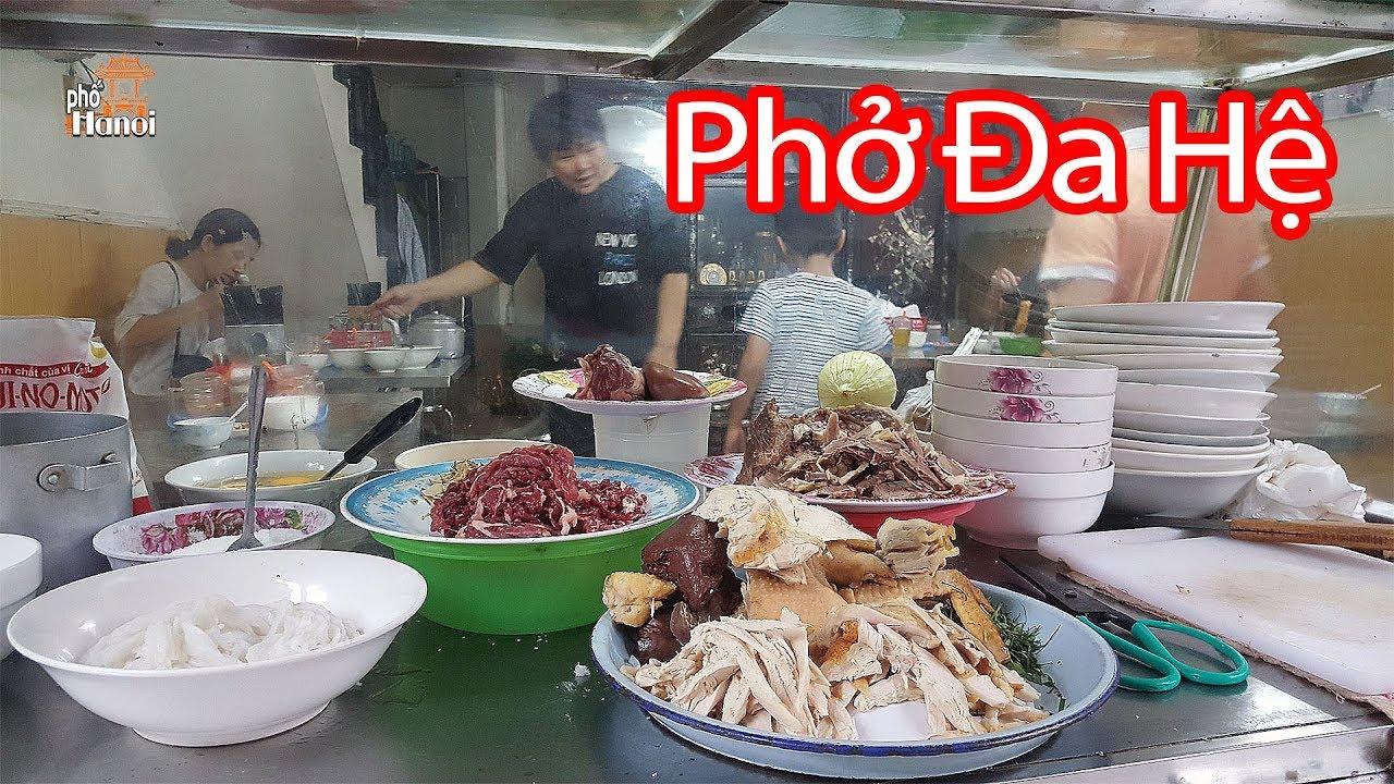 Lạ lùng với phố có duy nhất một quán ăn đa hệ đã tồn tại hơn 30 năm #hnp