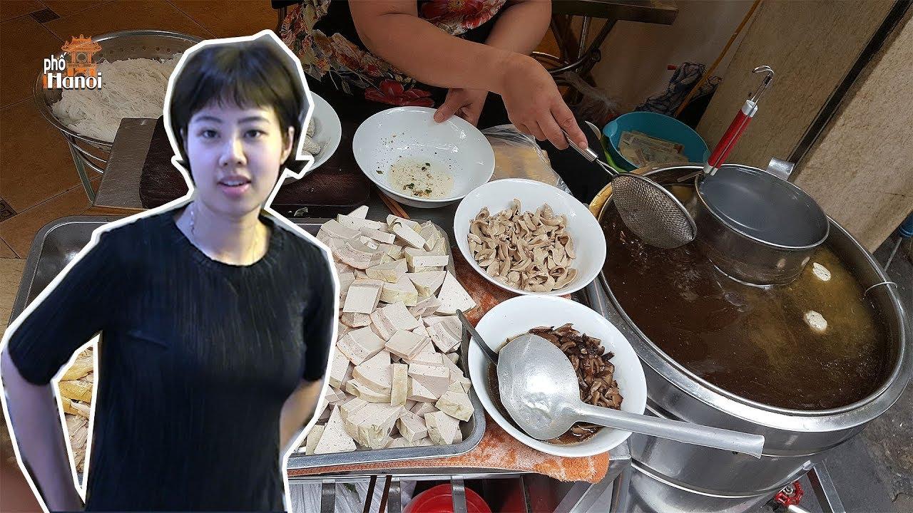 Màn ra mắt e thẹn của cô chủ nhỏ nói nên sự tinh túy từ món ăn của người Hà Nội gốc #hnp