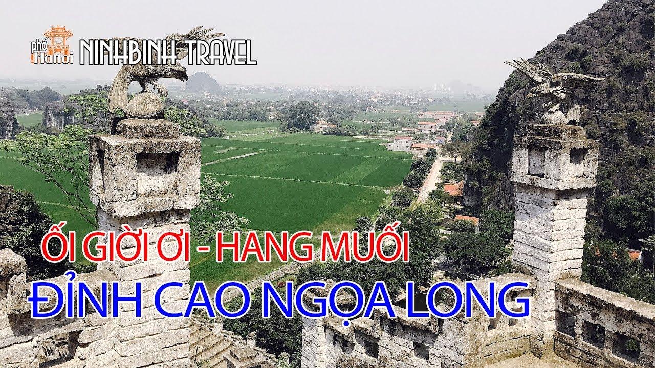 Nơi tiên cảnh bị bỏ quên giữa đất cố đô Hoa Lư núi Ngọa Long hang Múa #hnp
