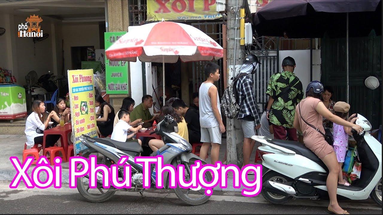 Sức hút lạ kỳ ở mọi lứa tuổi khi đã ăn đặc sản Xôi Phú Thượng là nghiền #hnp
