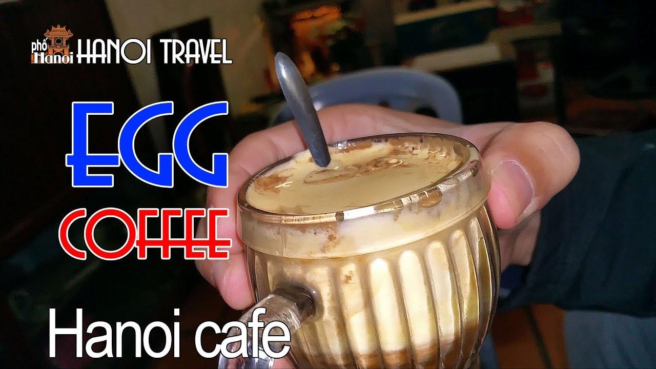 Tận mắt xem chế biến tại quán Cà Phê Trứng - Cafe Giảng Hà Nội  #hnp