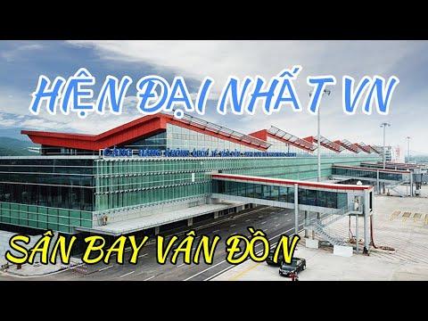 Toàn cảnh sân bay quốc tế Vân Đồn lộng lẫy giữa biển trời Đông Bắc #hnp