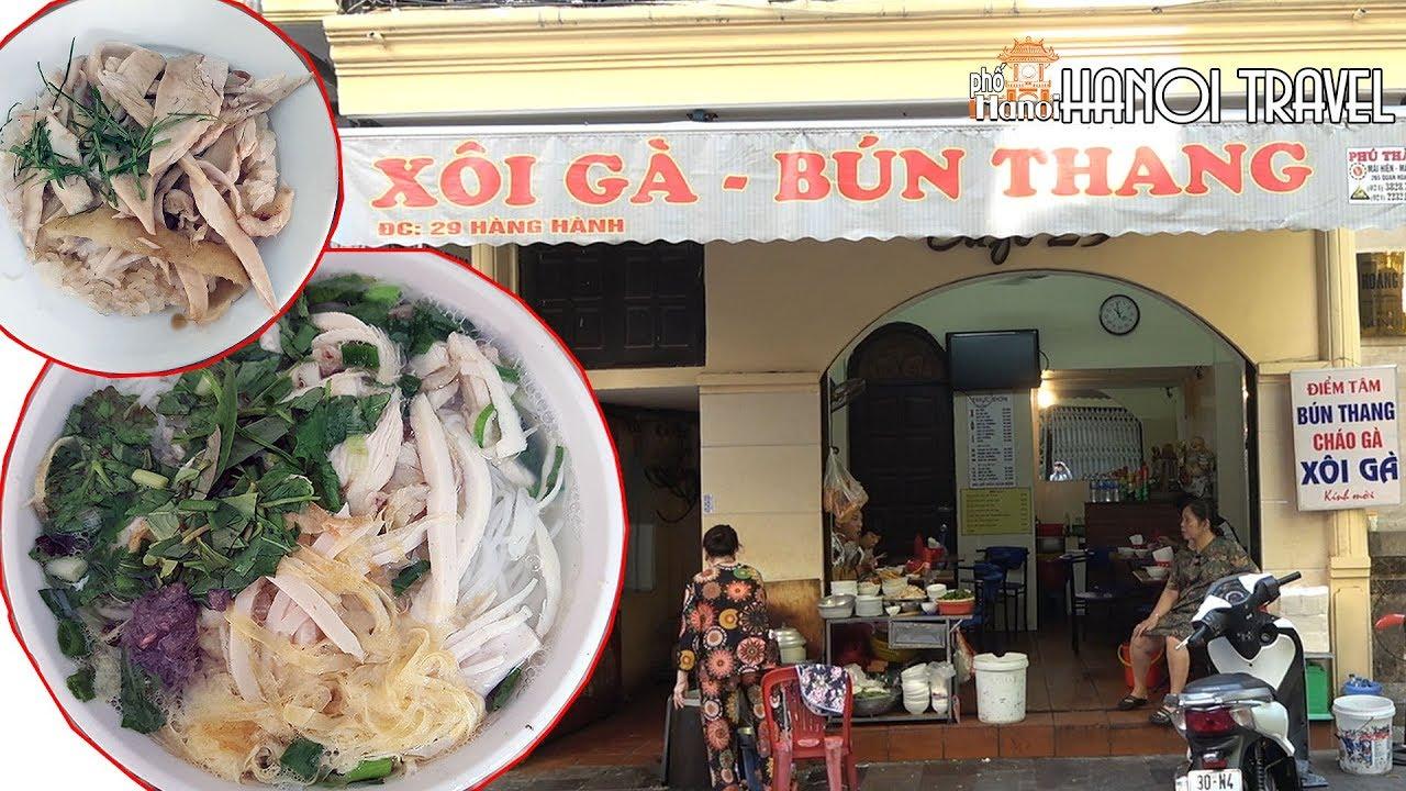 Việt Kiều Mỹ cứ về VN lại tới quán Bún Thang chuẩn vị người Hà Nội xưa | #HNP