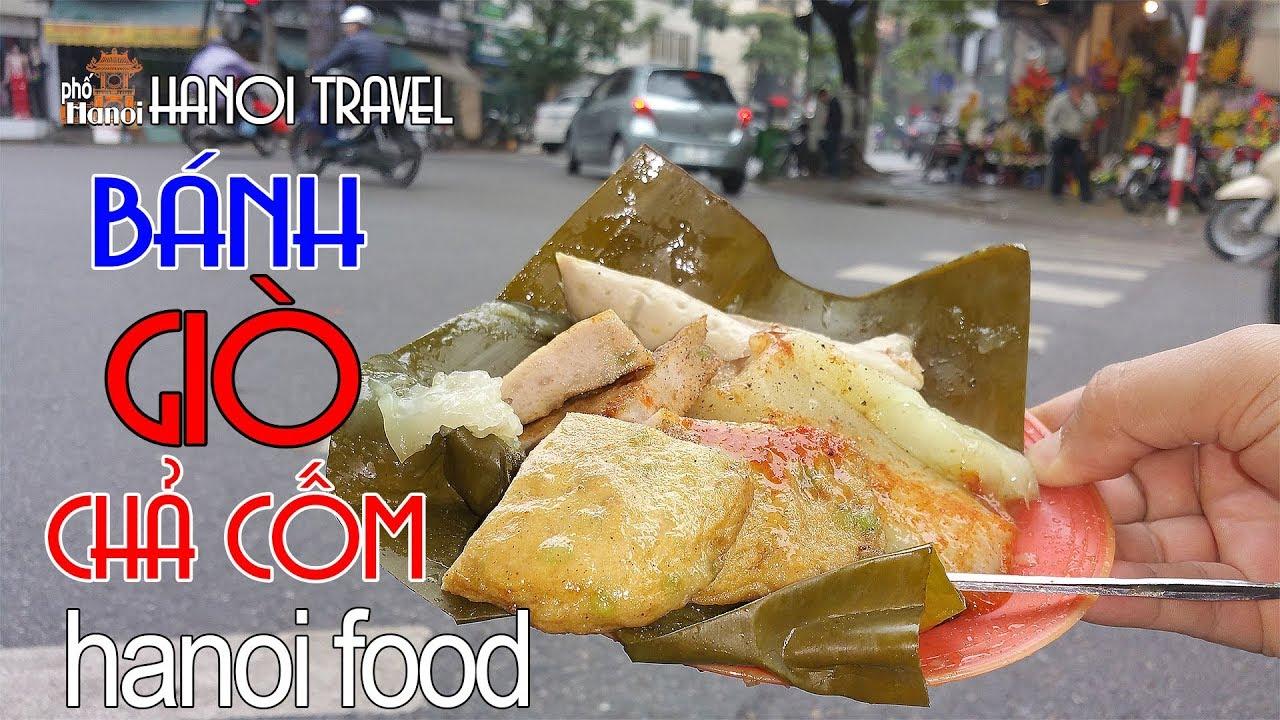 BÁNH GIÒ CHẢ CỐM chợ đuổi 30 năm tuổi mang nét ẩm thực cổ truyền Hà Nội #hnp