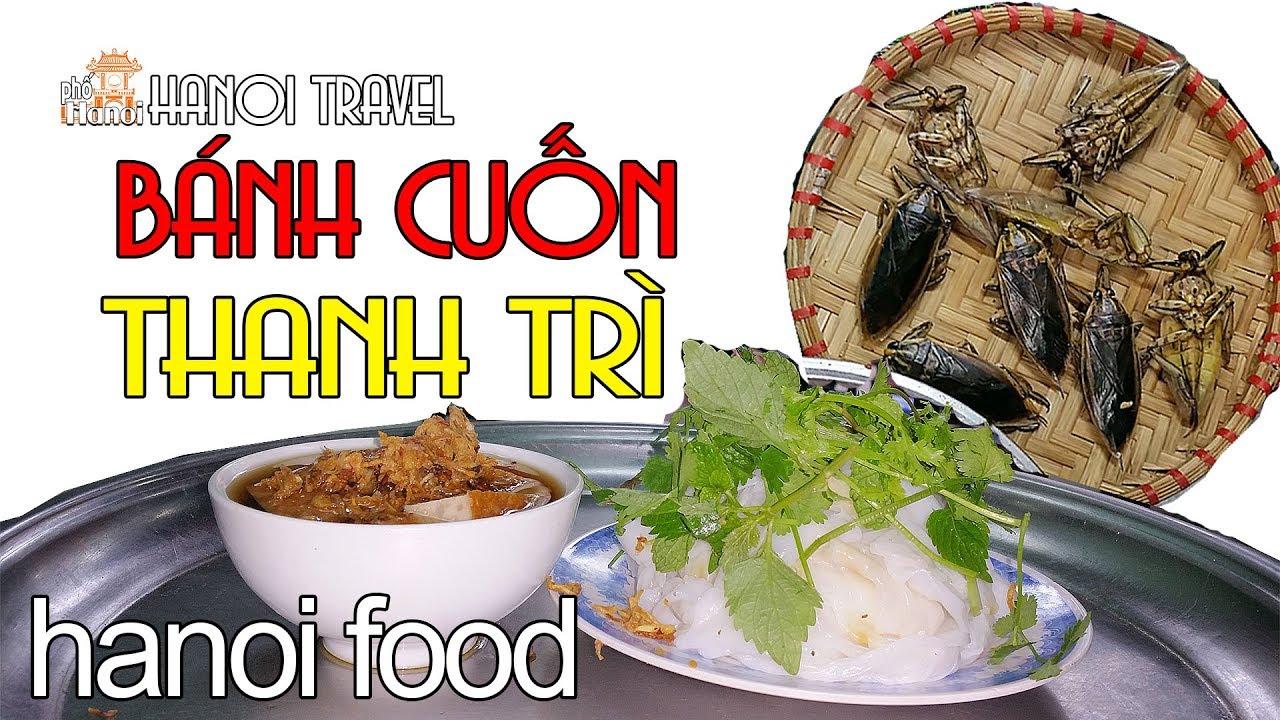 Bánh Cuốn Thanh Trì Bà Hoàng Ngon thứ thiệt #hnp