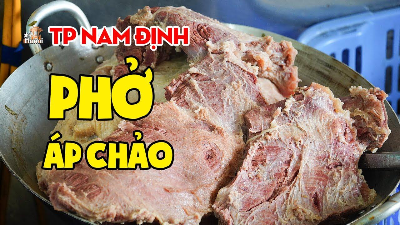 Lý do 60% Người Thành Phố Nam Định Chọn Ăn Phở Áp Chảo #hnp
