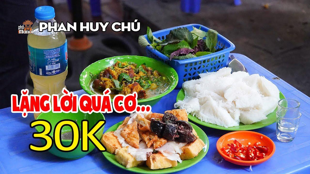 Ai Cũng Phải Tủm Tỉm Cười Khi Ăn Bún Đậu Mắm Tôm Chợ Phan Huy Chú #hnp