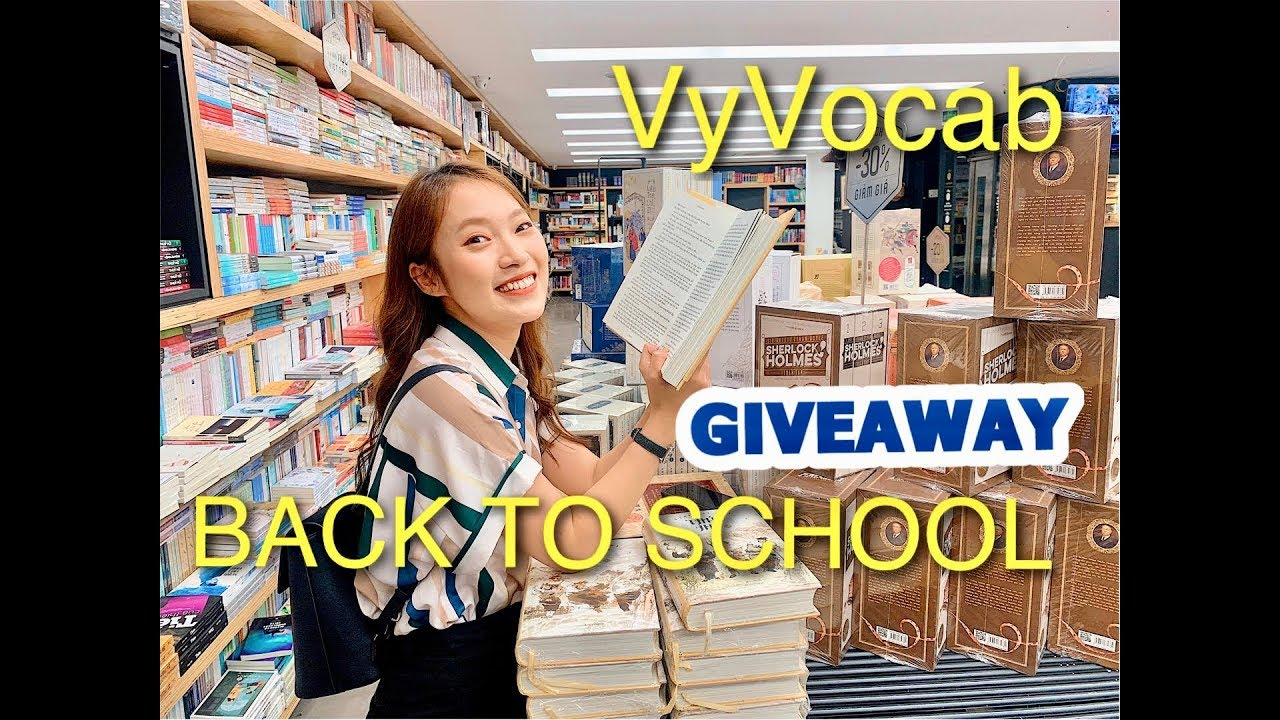 """Giveaway BACK TO SCHOOL 