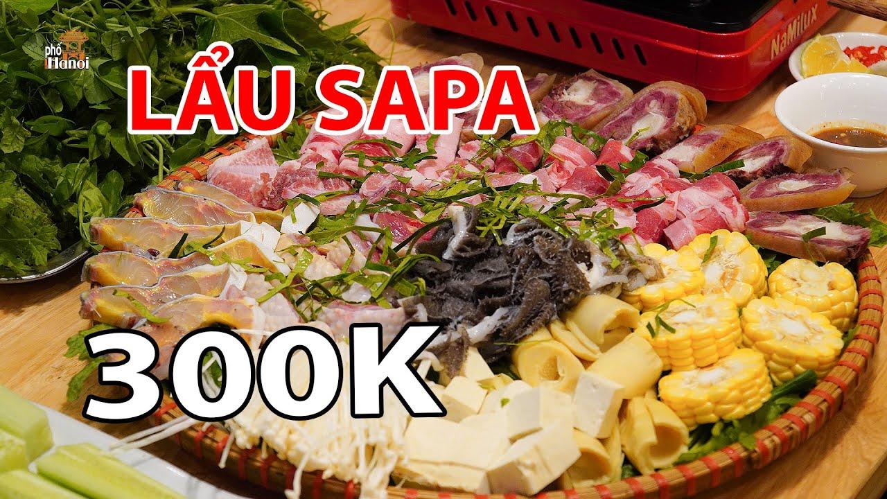 Ngạc Nhiên Chỉ Với 300K Ăn Nhiều Đặc Sản SAPA Trong Một Nồi Lẩu #hnp