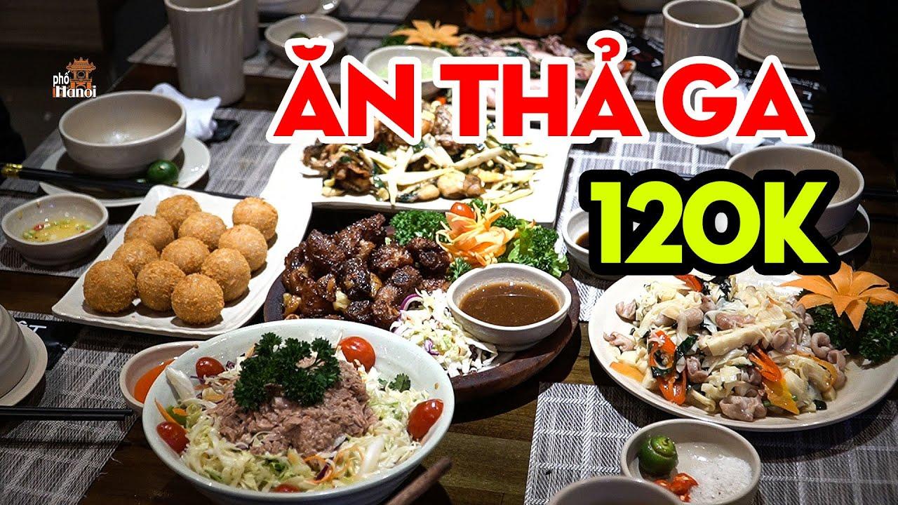 Ăn Thả Ga 120K Với Gia Đình Bạn Bè Tại Lẩu Việt Trên Phố Ẩm Thực Hà Đông #hnp