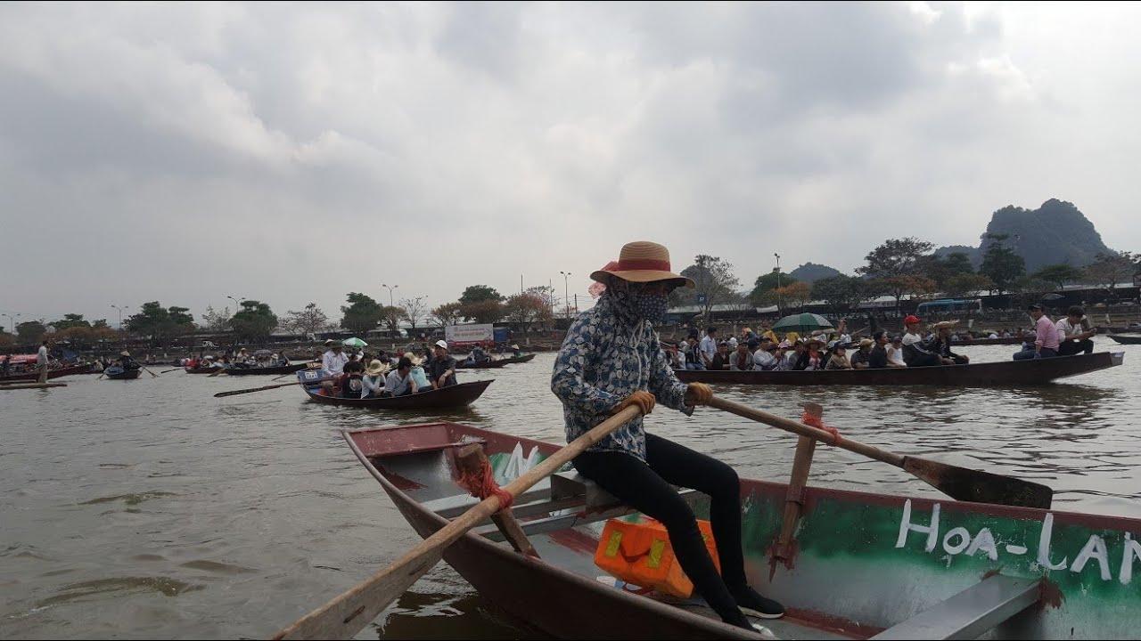 Mùng 6 Tết chảy hội chùa Hương #hnp