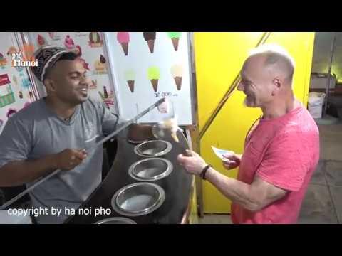 Bán kem troll khách từ tây đến ta mà vẫn lần lượt xếp hàng tại Đà Nẵng #hnp
